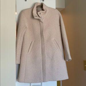 Ann Taylor LOFT Wool Coat (Medium Petite)